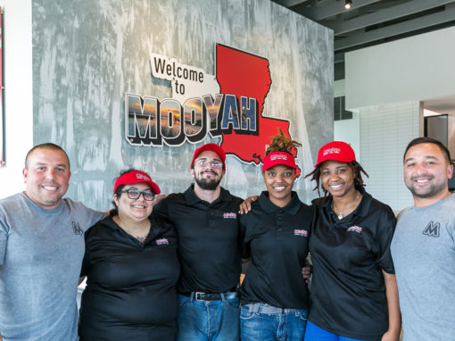 Best Burger Frachise, MOOYAH, Opens 7th Location in Louisiana