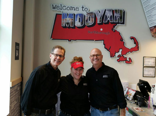 MOOYAH Burger Franchise Back in Billerica