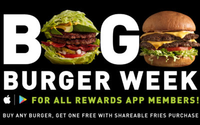 It's BOGO Burger Week at MOOYAH!