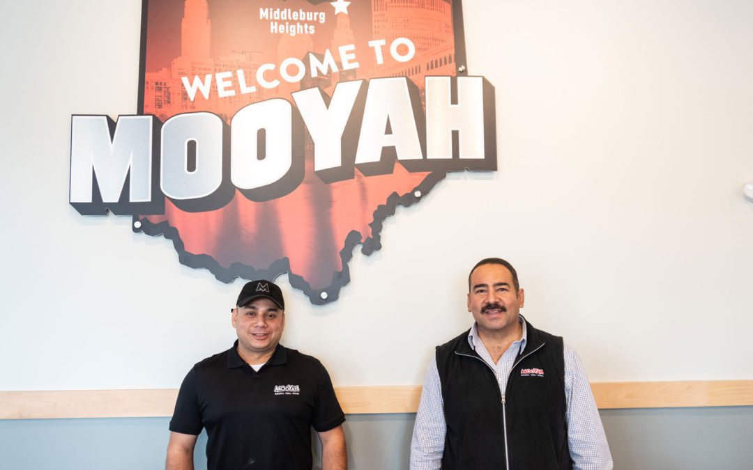 Emad Tawfik Opens MOOYAH in Ohio!
