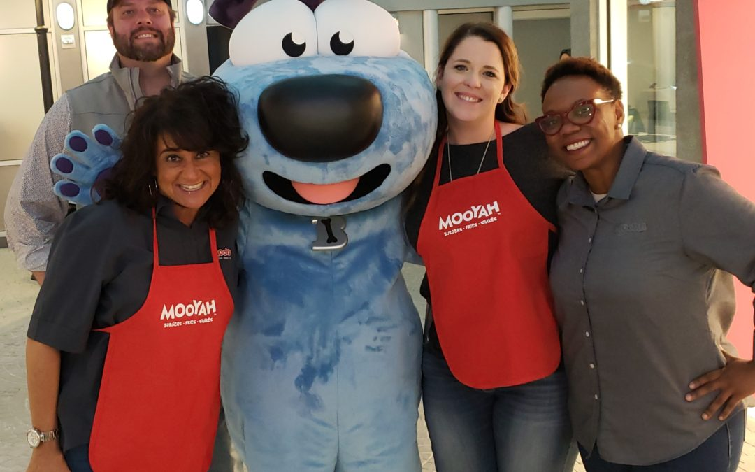 MOOYAH Opens in Dallas in New KidZania USA!