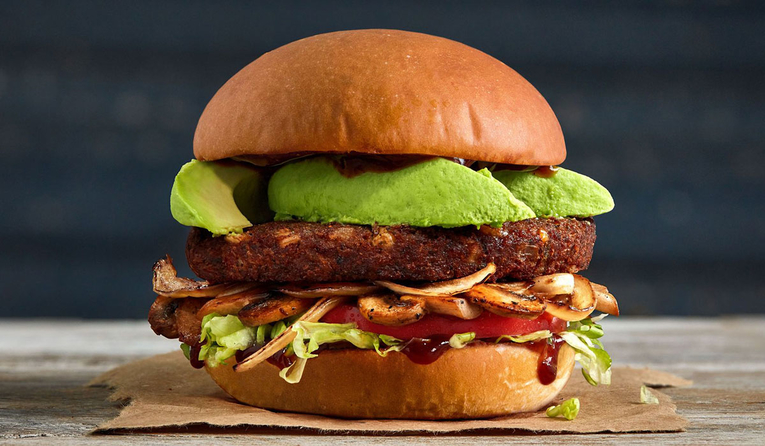 Hamburger Franchise Unveils Vegan Burger!