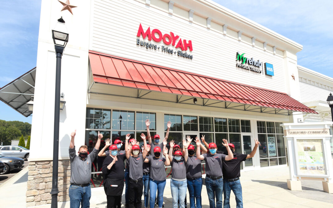 MOOYAH Opens in Guilford, CT